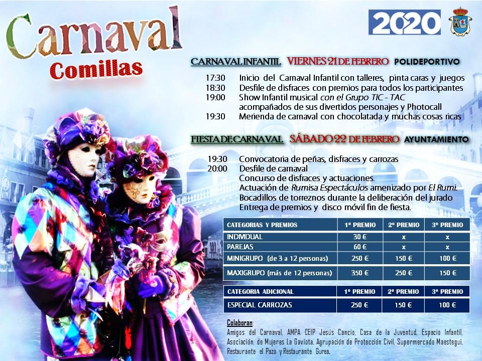 Carnaval 2020 - Comillas (Cantabria)