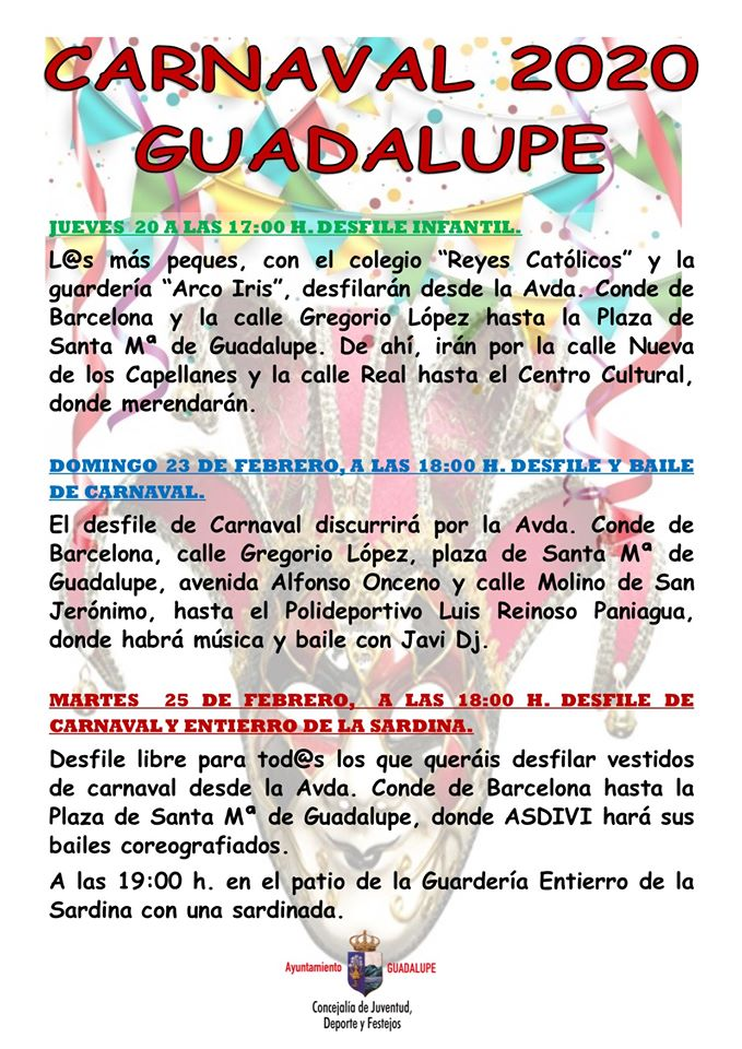 Carnaval 2020 - Guadalupe (Cáceres) 2