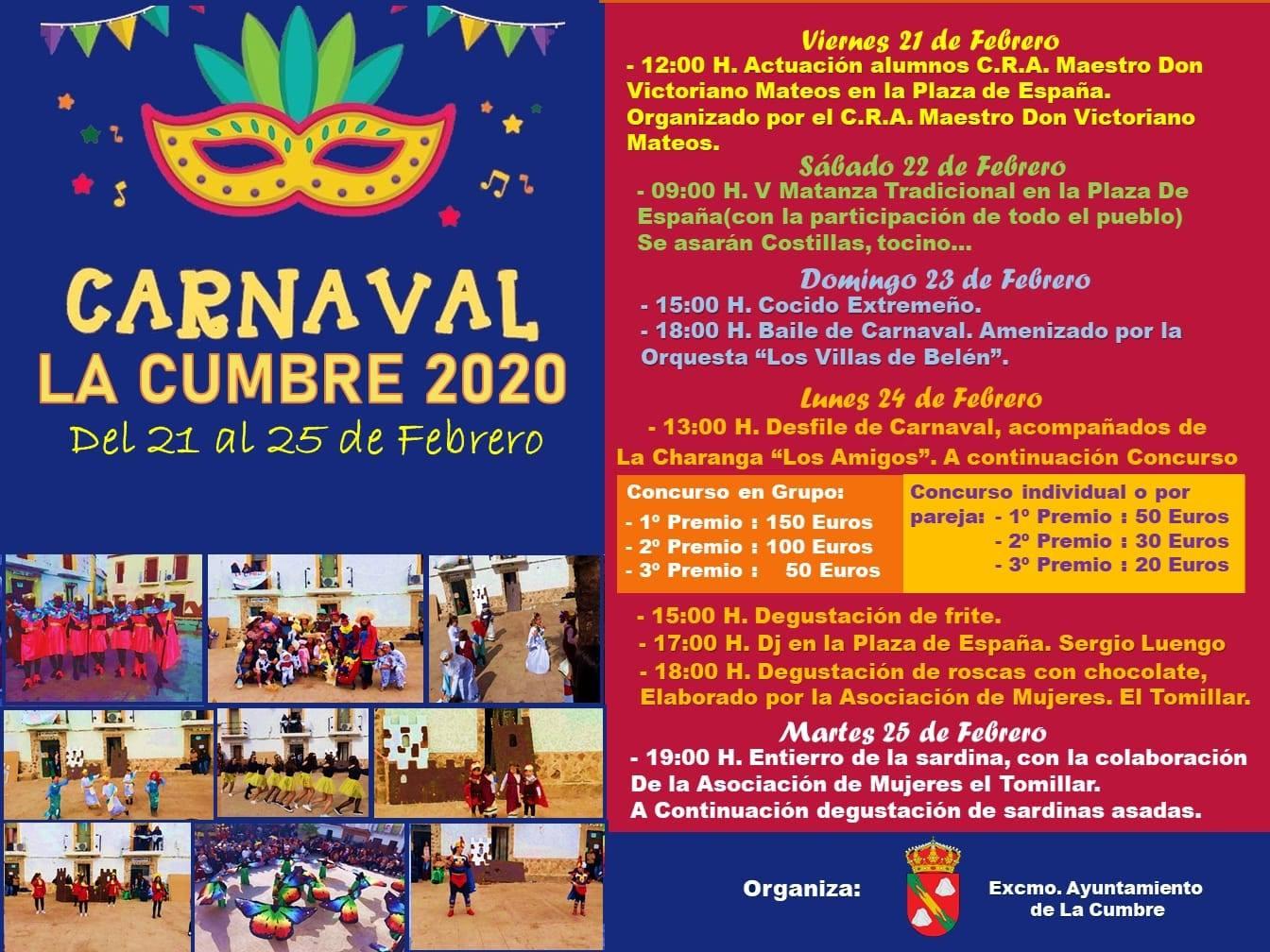 Carnaval 2020 - La Cumbre (Cáceres)