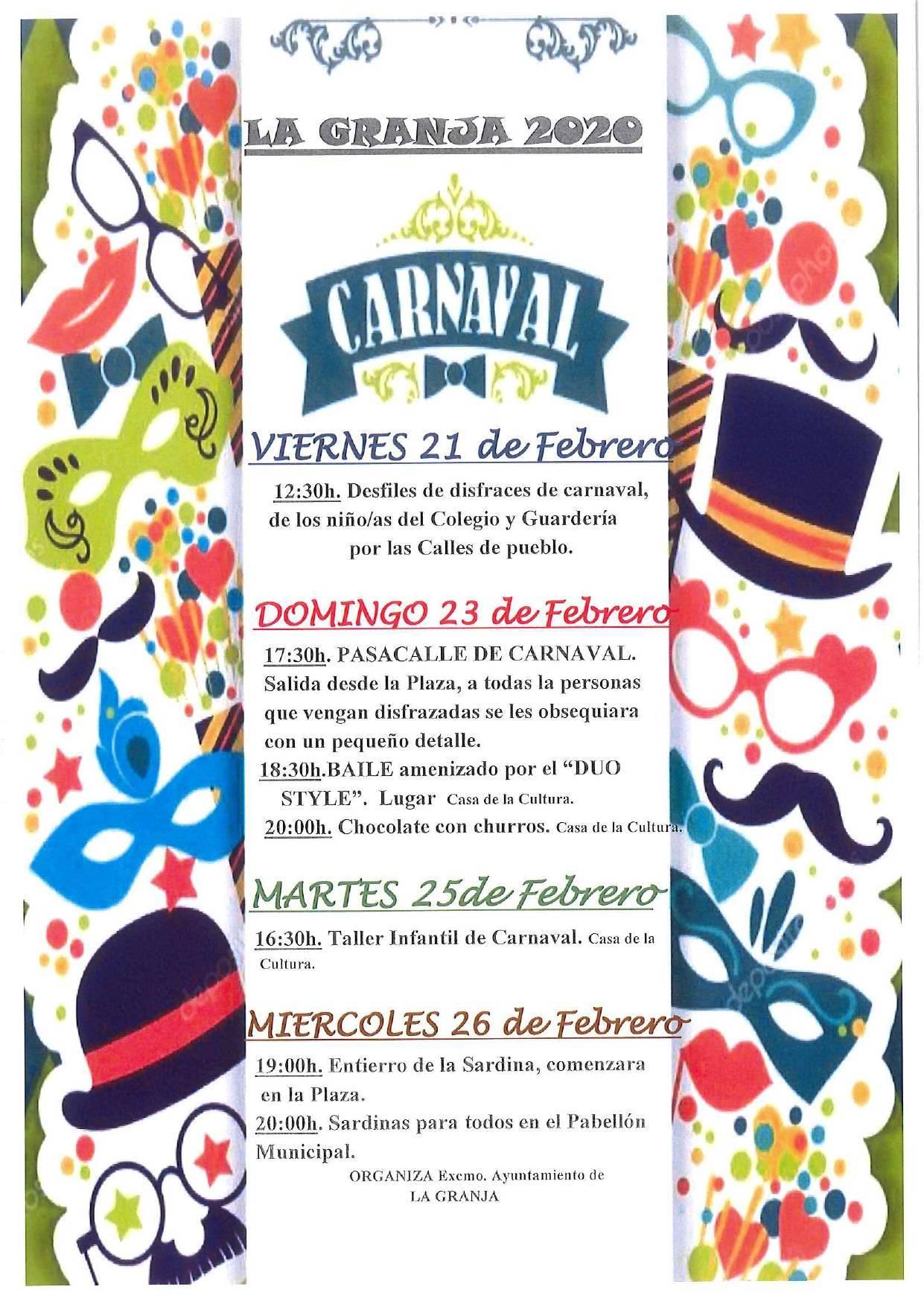Carnaval 2020 - La Granja (Cáceres)