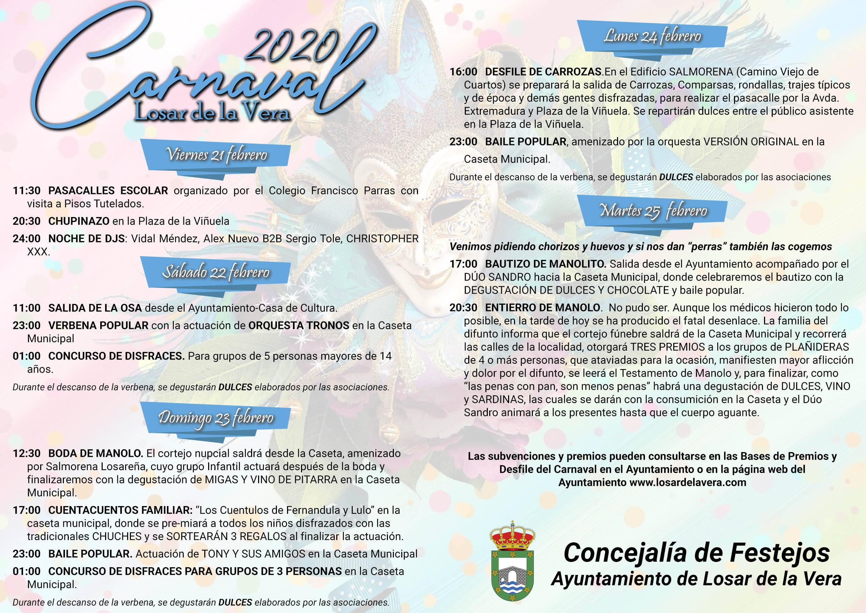 Carnaval 2020 - Losar de la Vera (Cáceres) 2