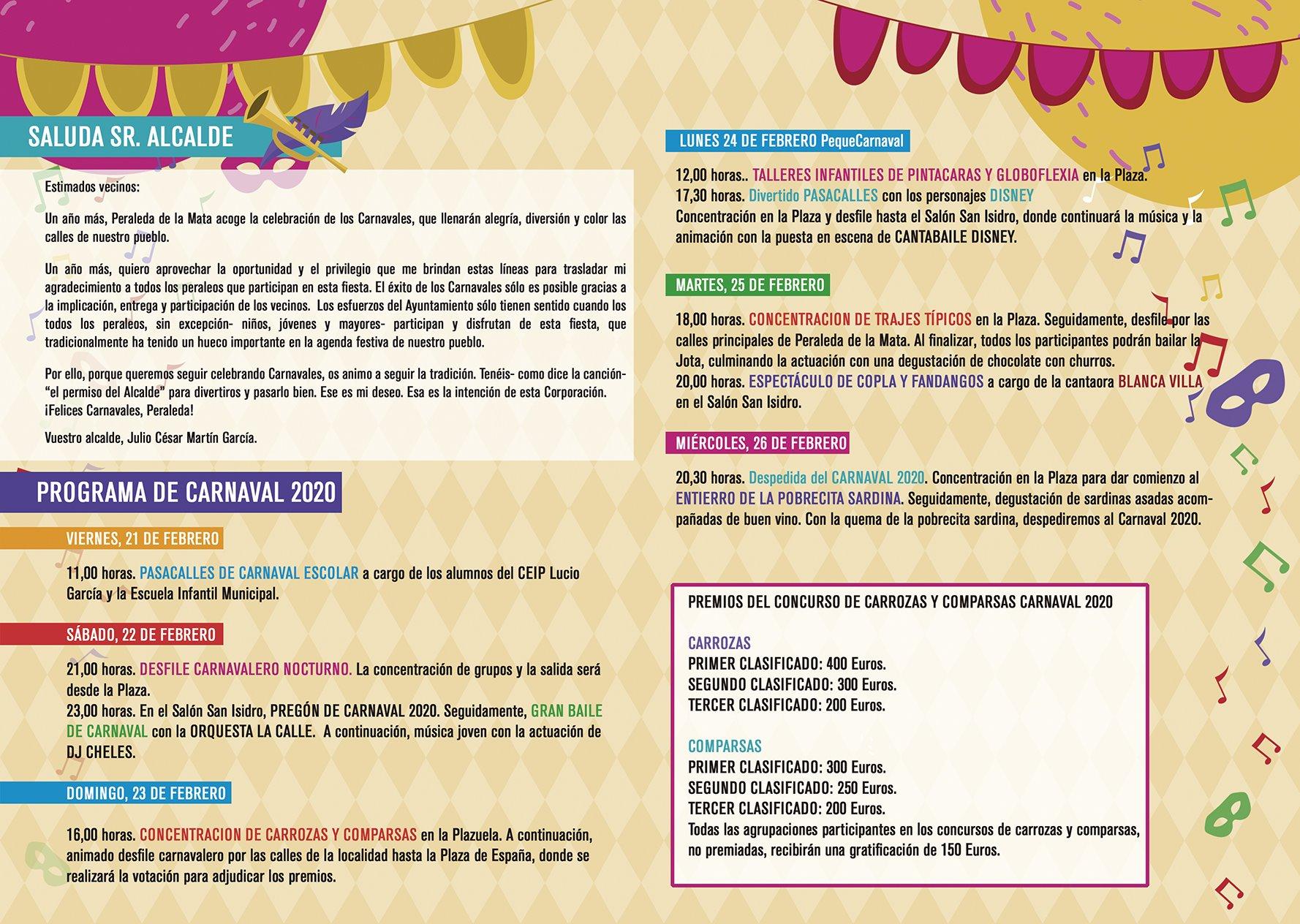 Carnaval 2020 - Peraleda de la Mata (Cáceres) 2