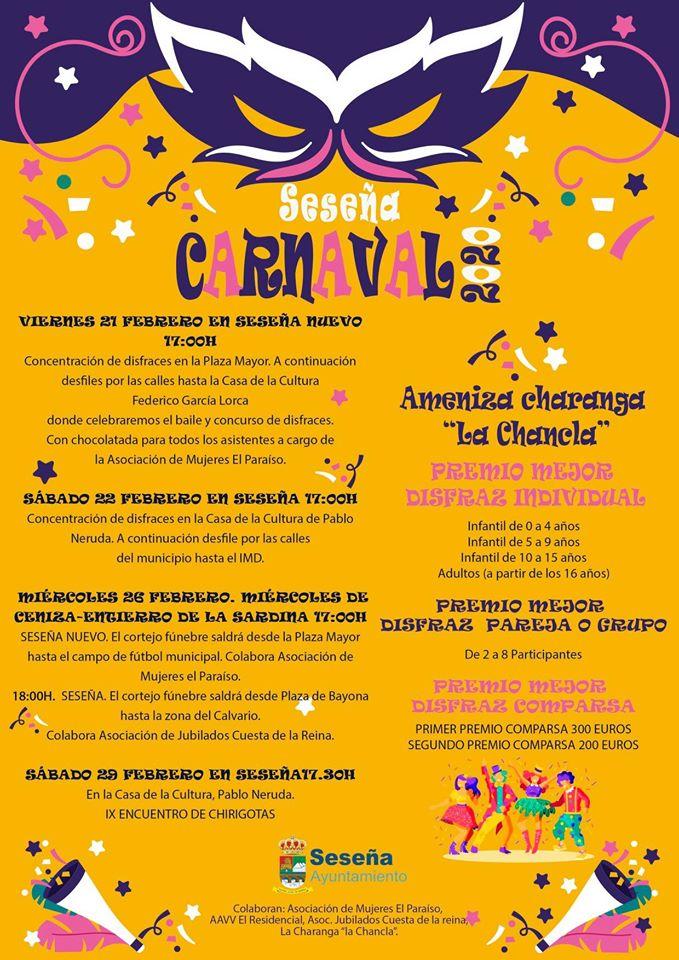 Carnaval 2020 - Seseña (Toledo)