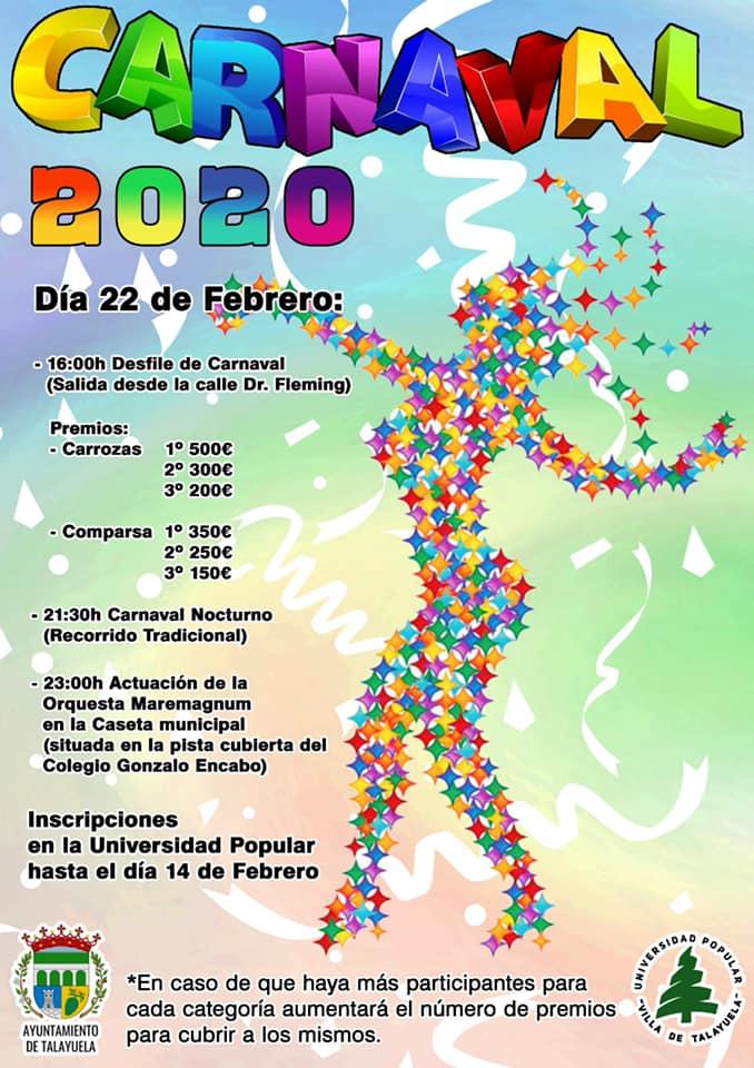 Carnaval 2020 - Talayuela (Cáceres)