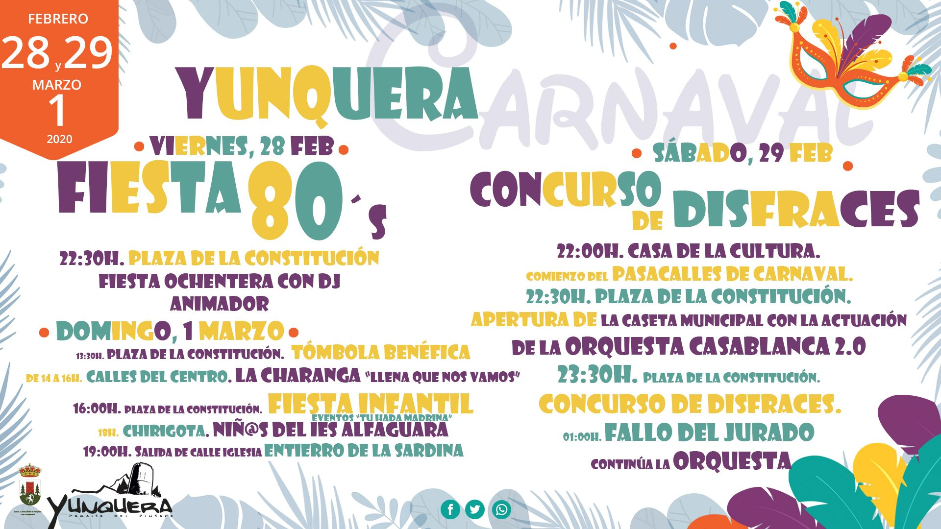 Carnaval 2020 - Yunquera (Málaga)