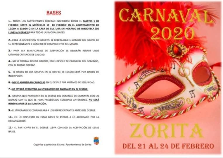 Carnaval 2020 - Zorita (Cáceres) 1