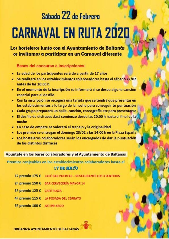Carnaval en ruta 2020 - Baltanás (Palencia)