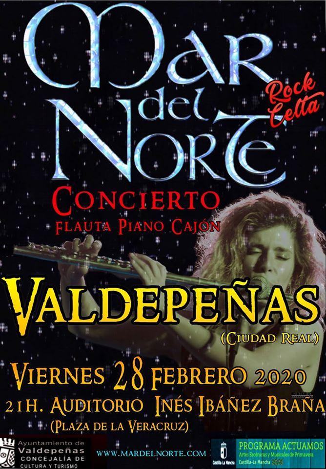 Concierto Mar del Norte 2020 - Valdepeñas (Ciudad Real)