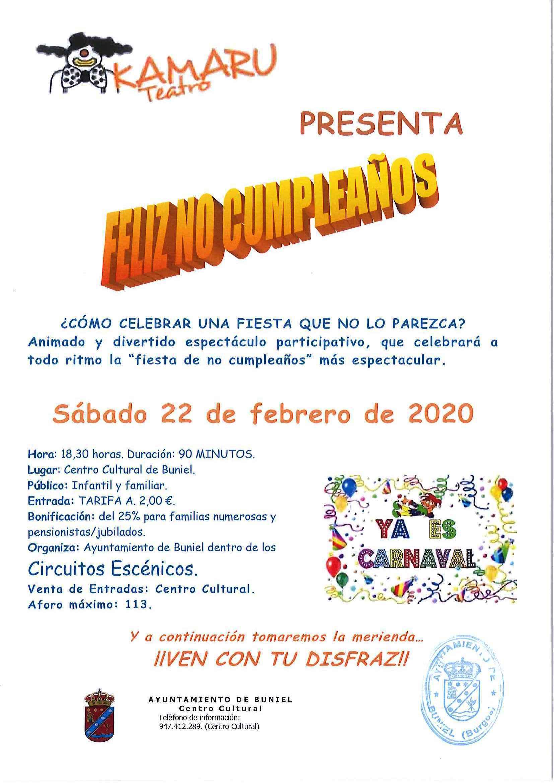 Feliz no cumpleaños 2020 - Buniel (Burgos)