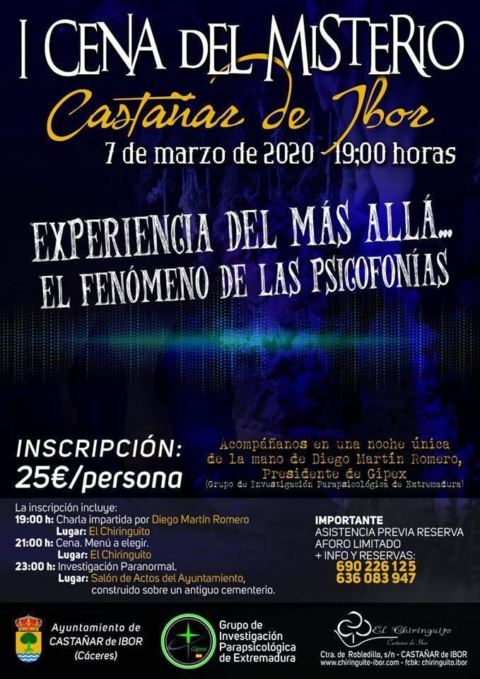 I Cena del misterio - Castañar de Ibor (Cáceres)