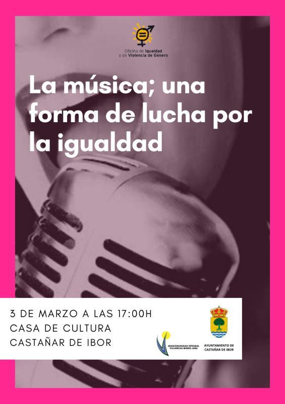 La música, una forma de lucha por la igualdad 2020 - Castañar de Ibor (Cáceres)