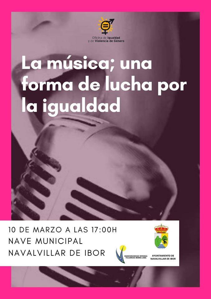 La música, una forma de lucha por la igualdad 2020 - Navalvillar de Ibor (Cáceres)