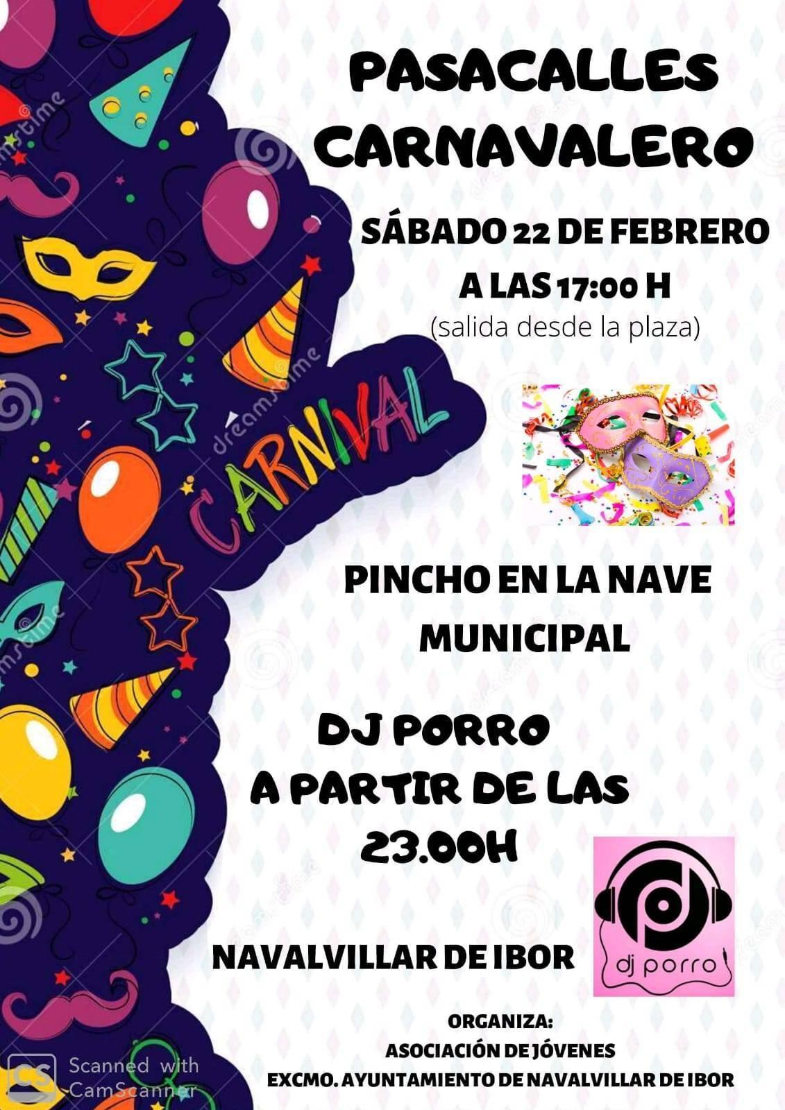 Pasacalles carnavalero 2020 - Navalvillar de Ibor (Cáceres)