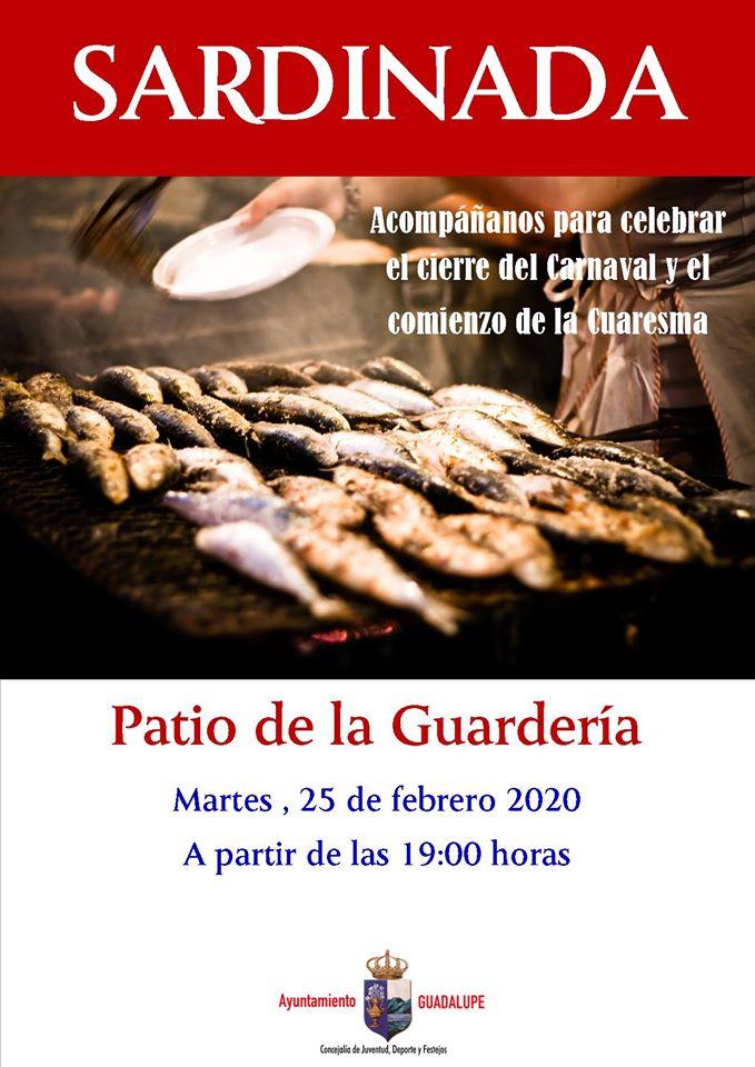 Sardinada 2020 - Guadalupe (Cáceres)