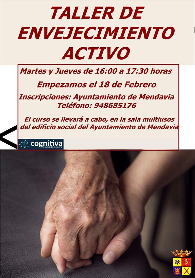 Taller de envejecimiento activo 2020 - Mendavia (Navarra)