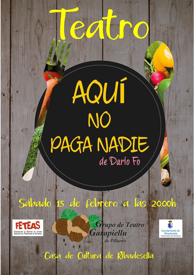 Teatro Aquí no paga nadie 2020 - Ribadesella (Asturias)