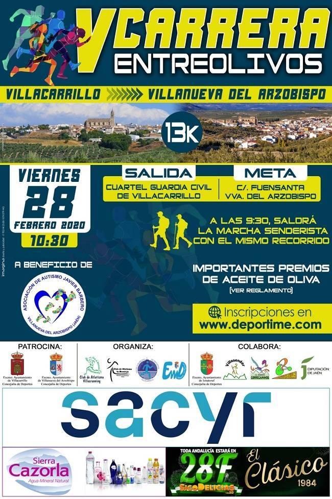 V Carrera Entreolivos - Villacarrillo (Jaén), Villanueva del Arzobispo (Jaén)