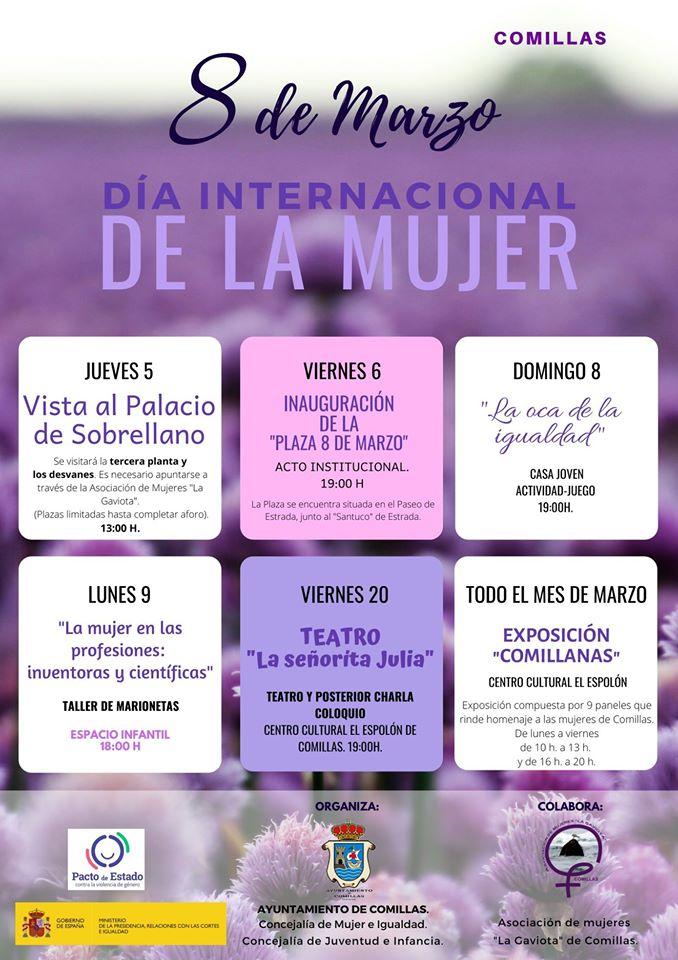 Día internacional de la mujer 2020 - Comillas (Cantabria)