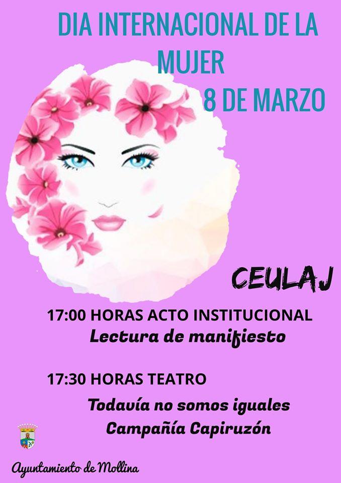 Día internacional de la mujer 2020 - Mollina (Málaga)