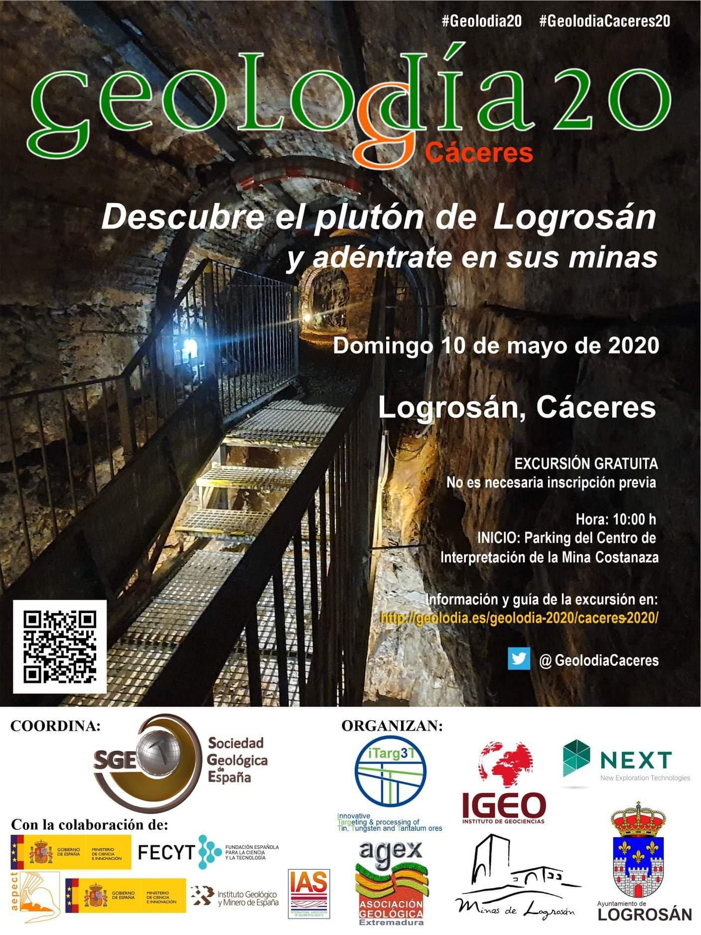 Geolodía 2020 - Logrosán (Cáceres)