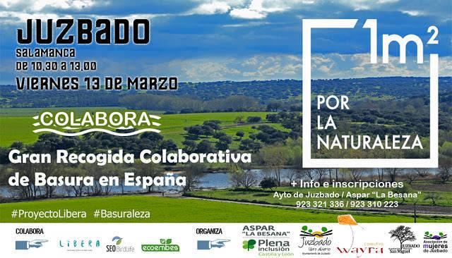 Gran recogida colaborativa de basura 2020 - Juzbado (Salamanca)