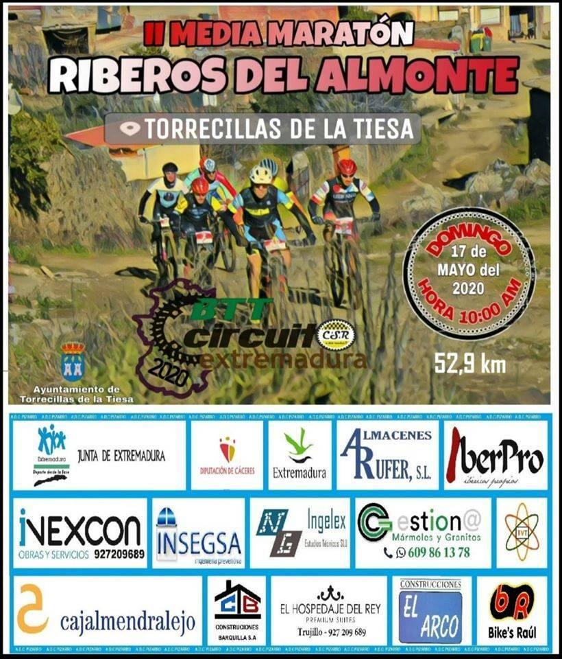 II Media maratón Riberos del Almonte - Torrecillas de la Tiesa (Cáceres)