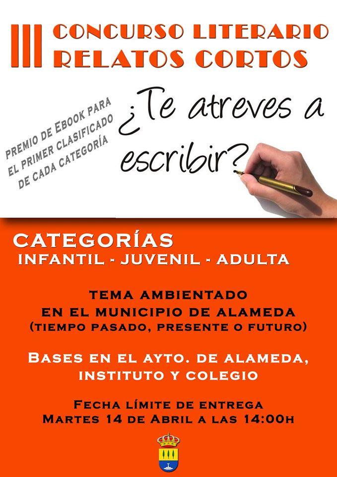III Concurso literario de relatos cortos - Alameda (Málaga)