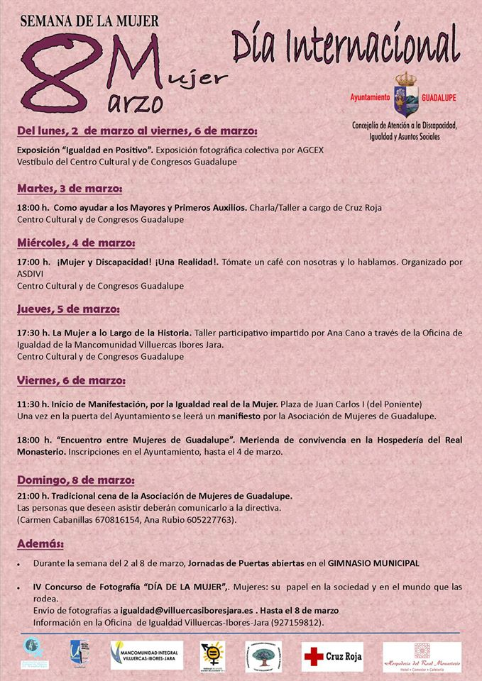 Semana de la mujer 2020 - Guadalupe (Cáceres)