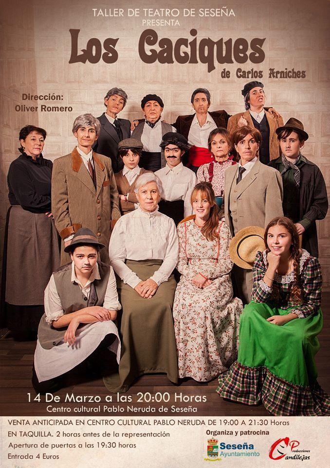 Teatro Los Caciques 2020 - Seseña (Toledo)