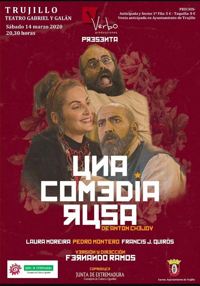 Teatro Una Comedia Rusa 2020 - Trujillo (Cáceres)