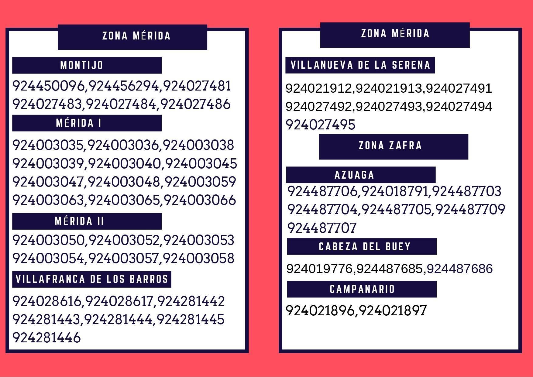 Teléfonos de asistencia del SEXPE durante el estado de alarma 2020 5