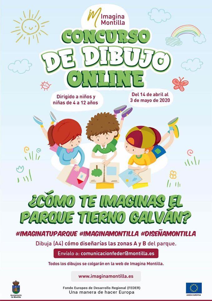 Concurso de dibujo online 2020 - Montilla (Córdoba)