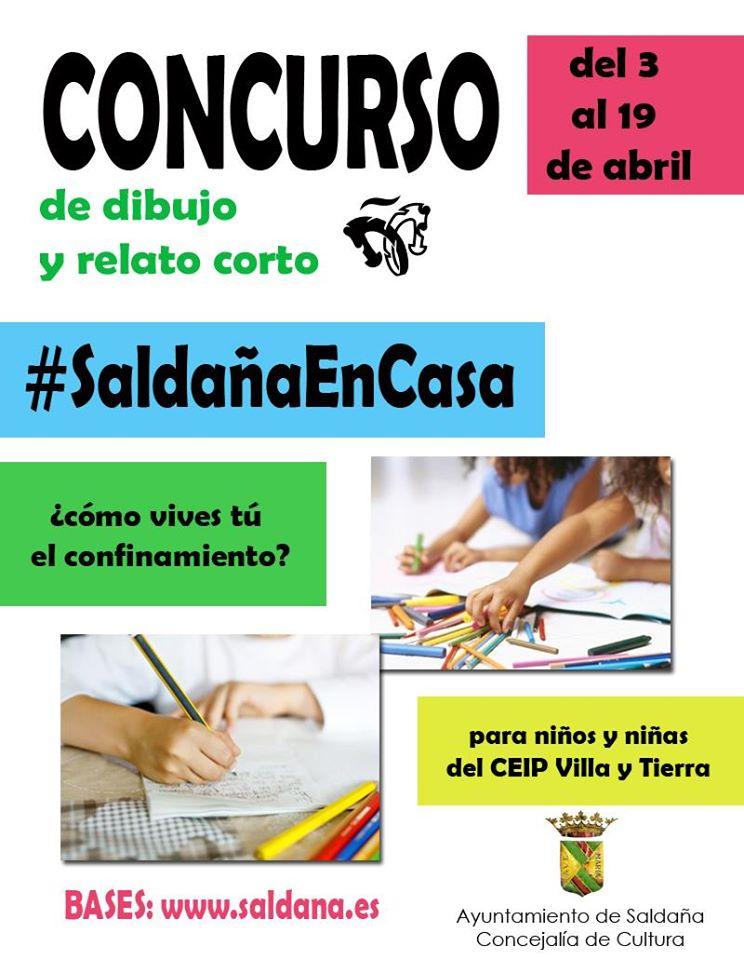 Concurso de dibujo y relato corto 2020 - Saldaña (Palencia)