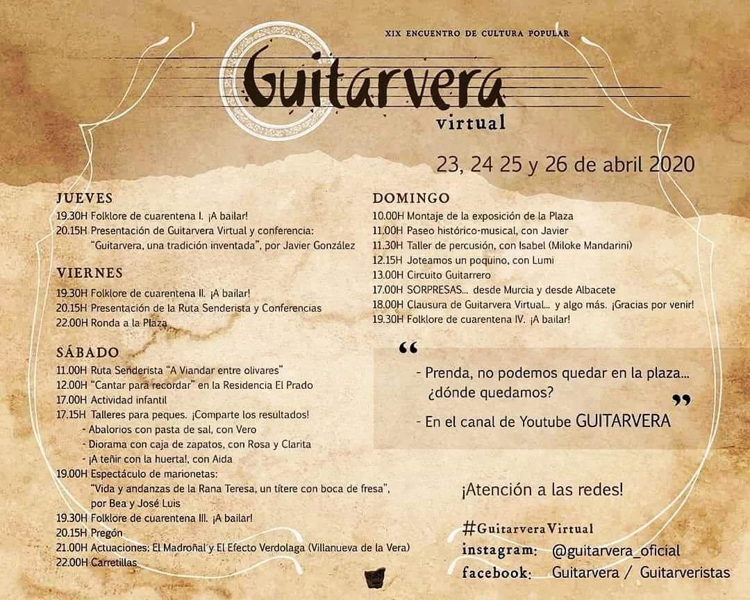 Guitarvera virtual 2020 - Villanueva de la Vera (Cáceres) 2