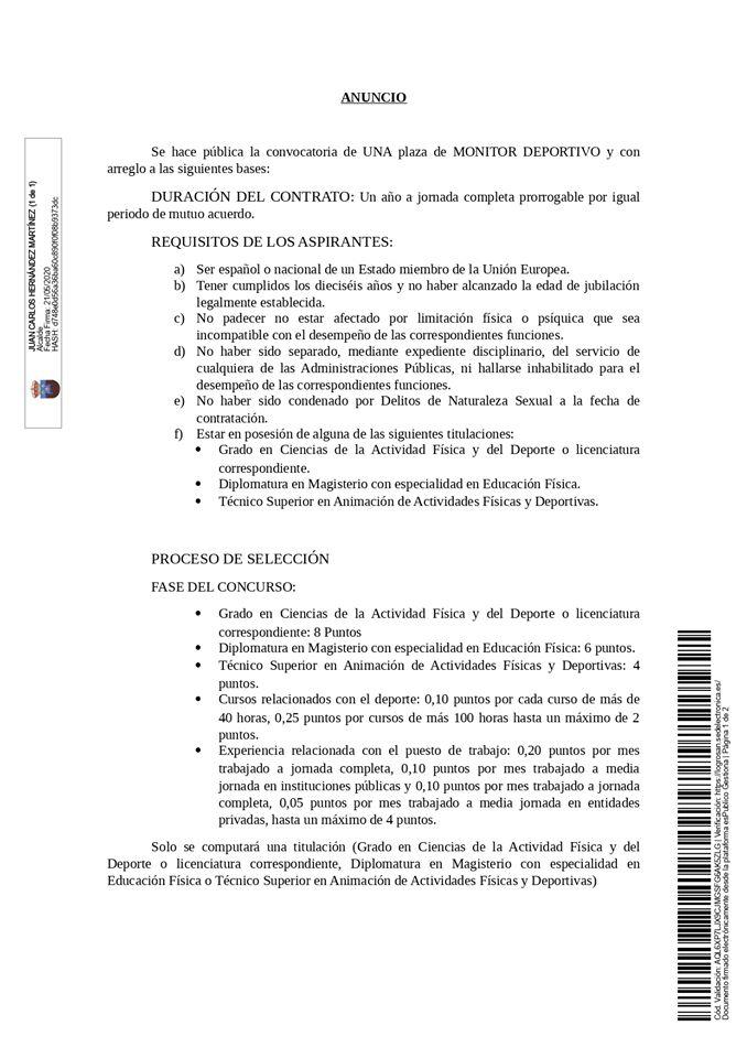 Monitor deportivo 2020 - Logrosán (Cáceres) 1