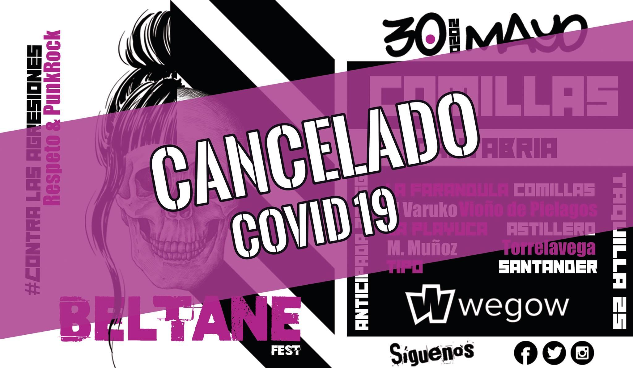 Se cancela el Beltane Fest 2020 - Comillas (Cantabria)