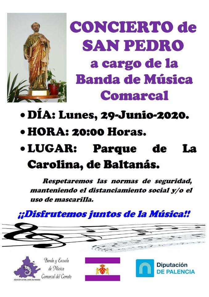 Concierto de San Pedro 2020 - Baltanás (Palencia)
