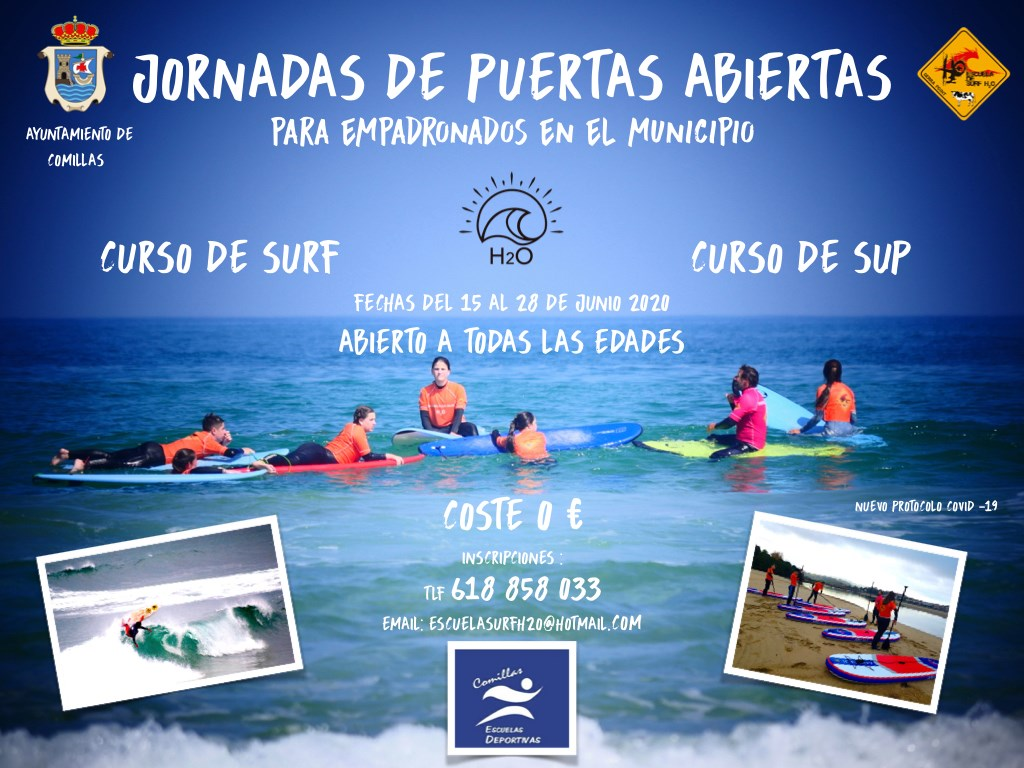 Curso de SUP Surf 2020 - Comillas (Cantabria)