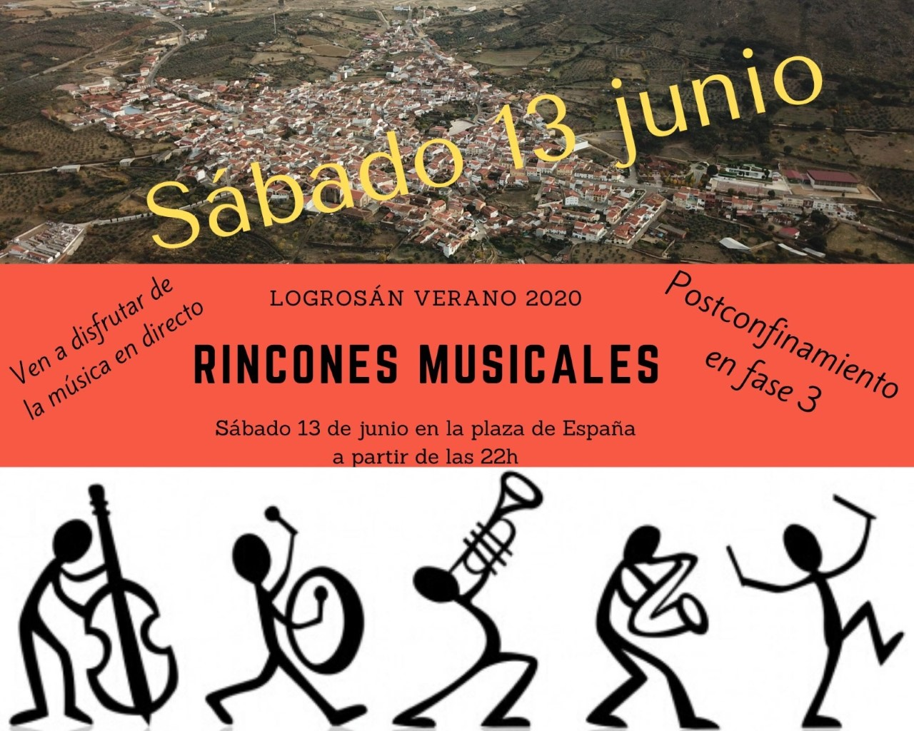 Rincones musicales 2020 - Logrosán (Cáceres)