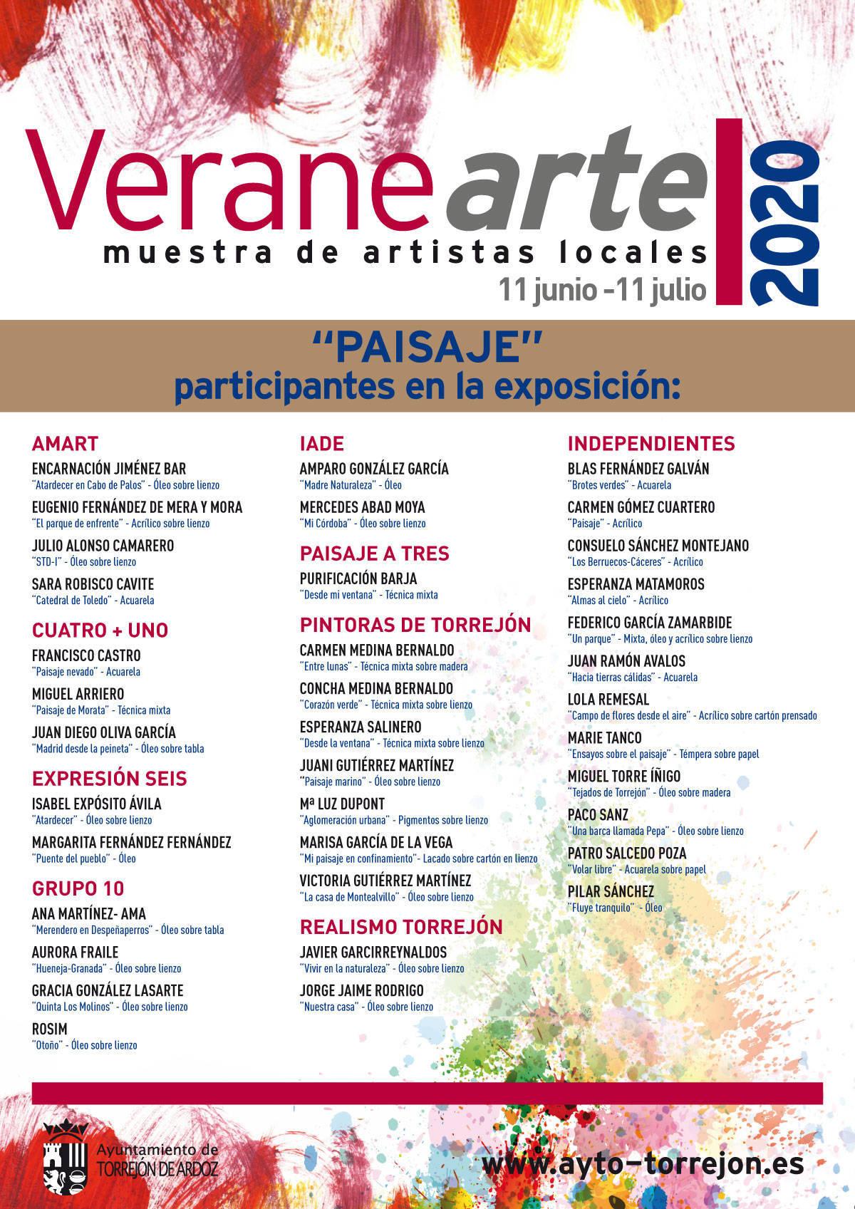 Veranearte 2020 - Torrejón de Ardoz (Madrid)