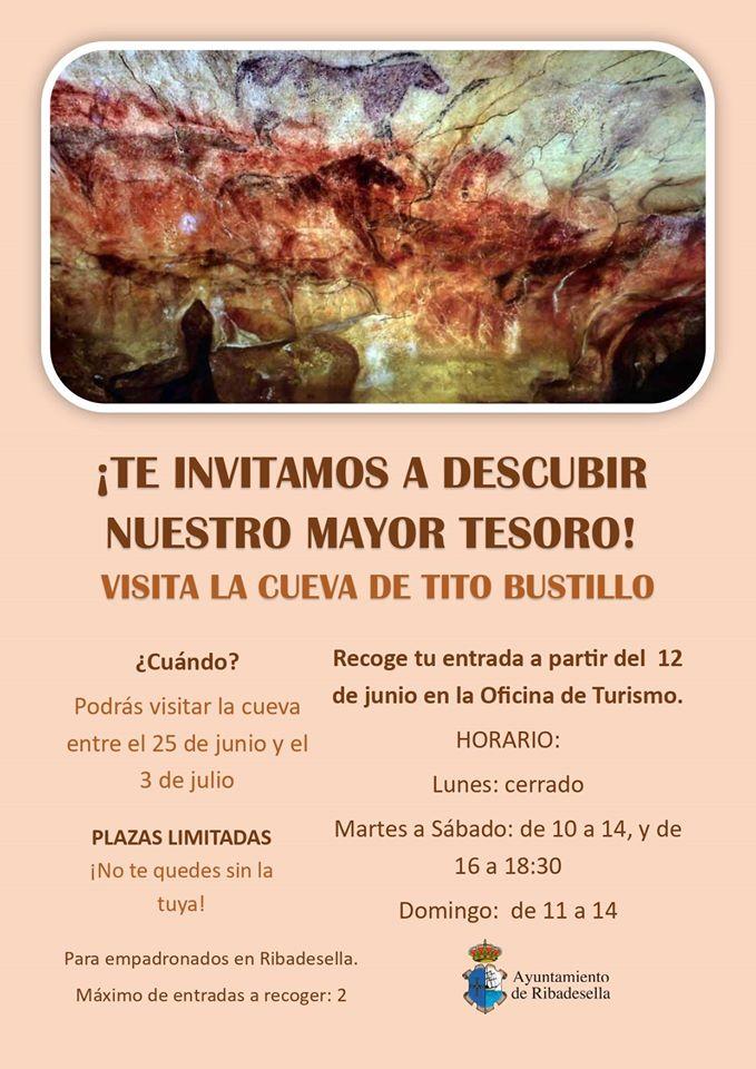 Visita a la cueva de Tito Bustillo 2020 - Ribadesella (Asturias)