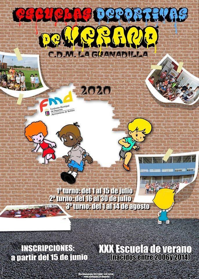 XXX escuela de verano - Badajoz