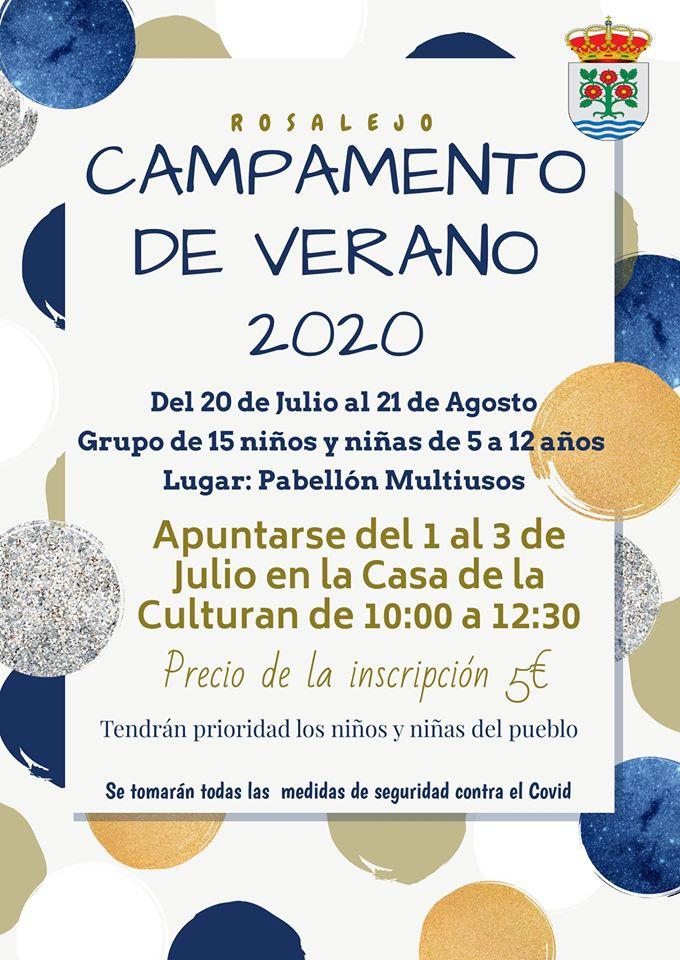 Campamento de verano 2020 - Rosalejo (Cáceres)