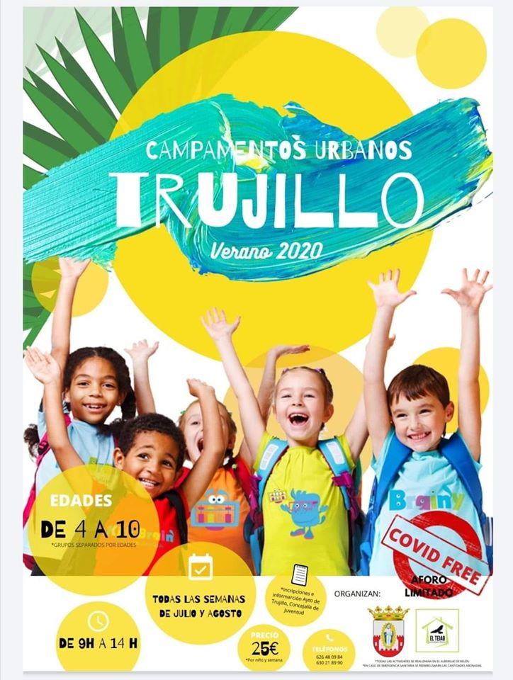 Campamento urbano de verano 2020 - Trujillo (Cáceres)