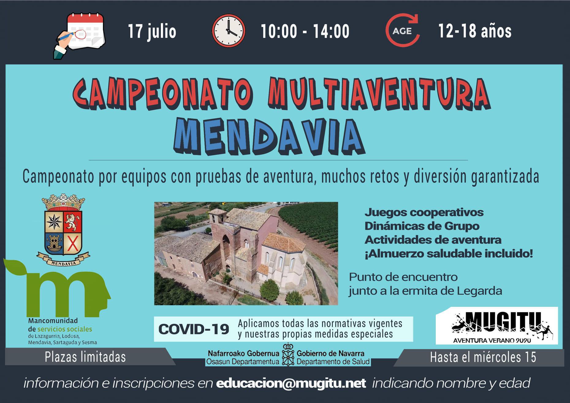 Campeonato multiaventura 2020 - Mendavia (Navarra)