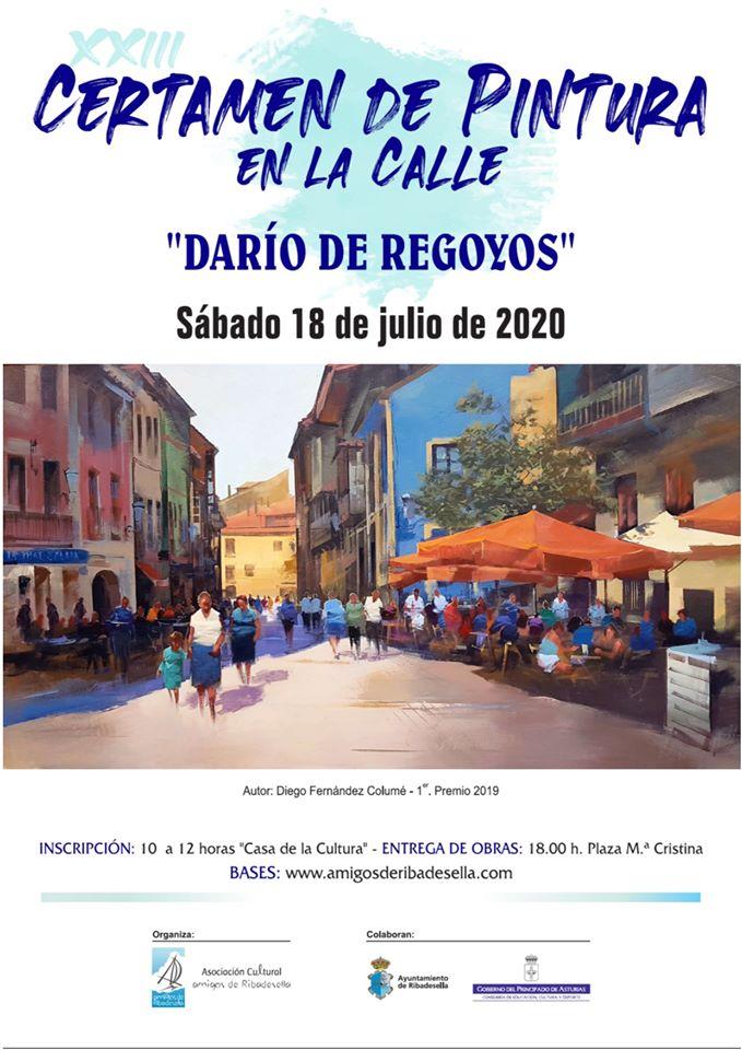 Certamen de pintura en la calle 2020 - Ribadesella (Asturias)