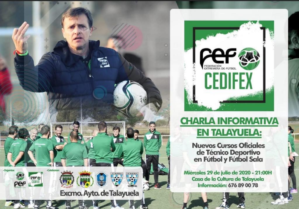 Charla técnico deportivo de fútbol y fútbol sala 2020 - Talayuela (Cáceres)