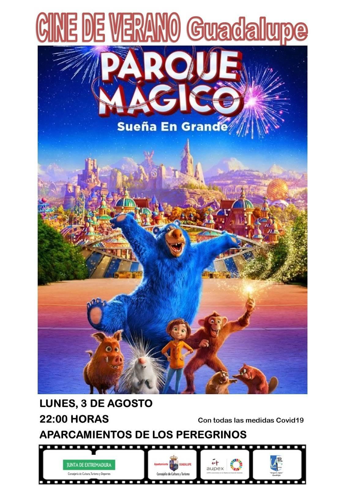 Cine de verano 2020 - Guadalupe (Cáceres) 1