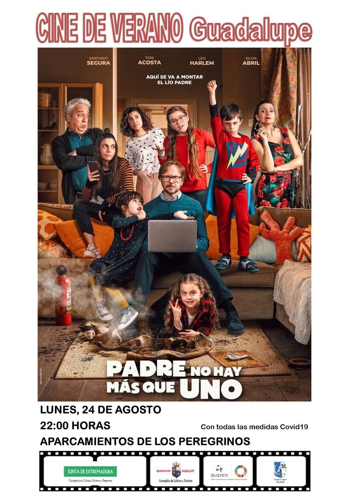 Cine de verano 2020 - Guadalupe (Cáceres) 4