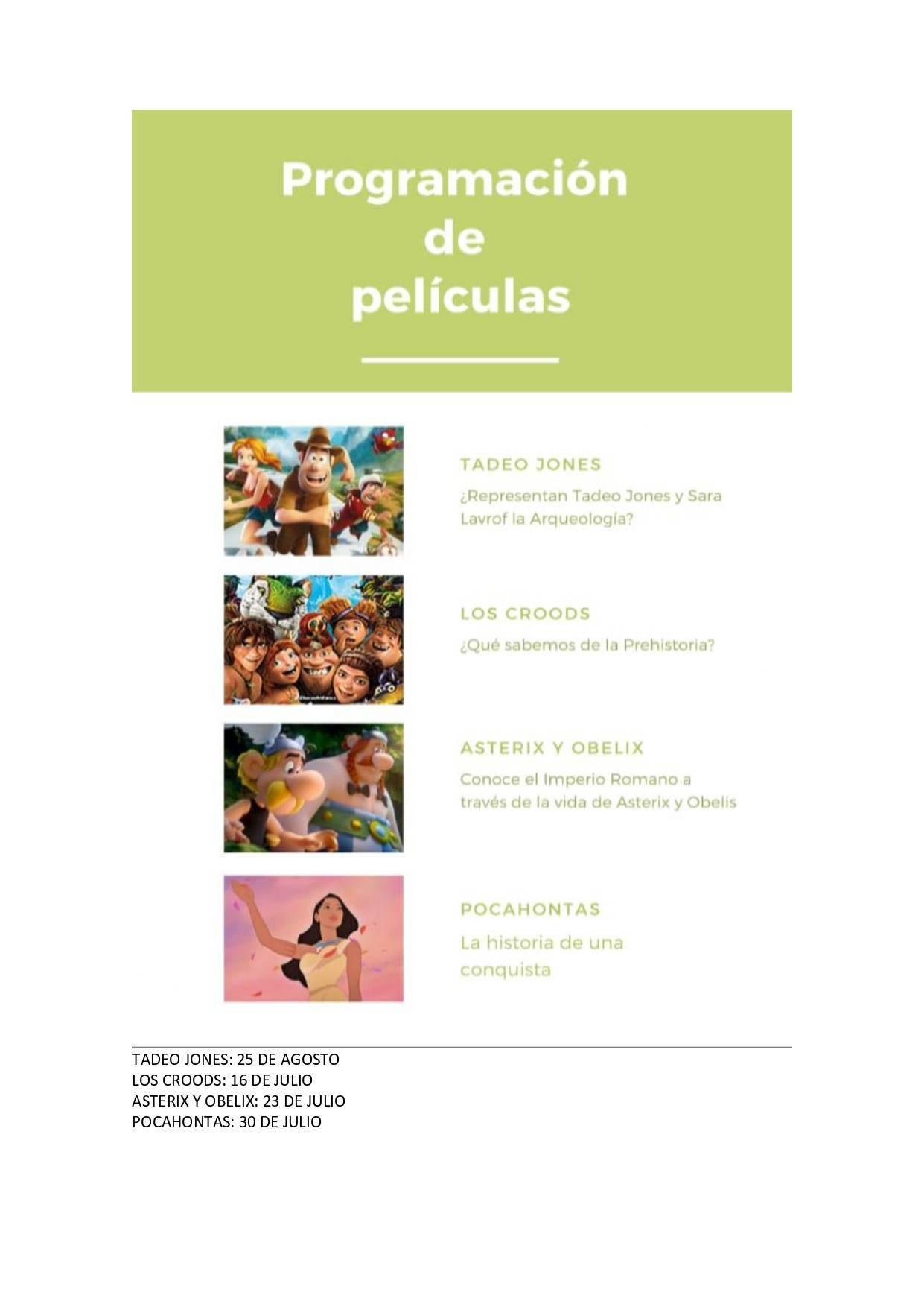 Cine de verano 2020 - Jerez de la Frontera (Cádiz) 2